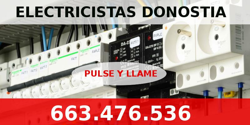 donostia electricistas