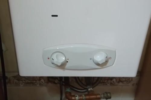 consumo calentador de gas