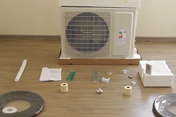 Mantenimiento de aire acondicionado Split externo
